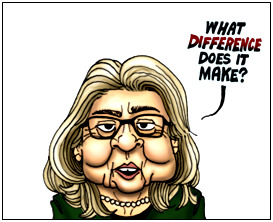 hillary clintion cartoon