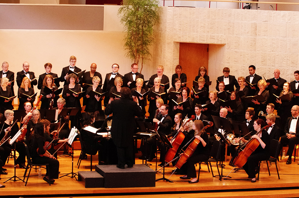 orchestra and chorale