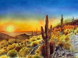 Arizona's Sunset by Maria Varga-Hansen (Jewel of the Creek