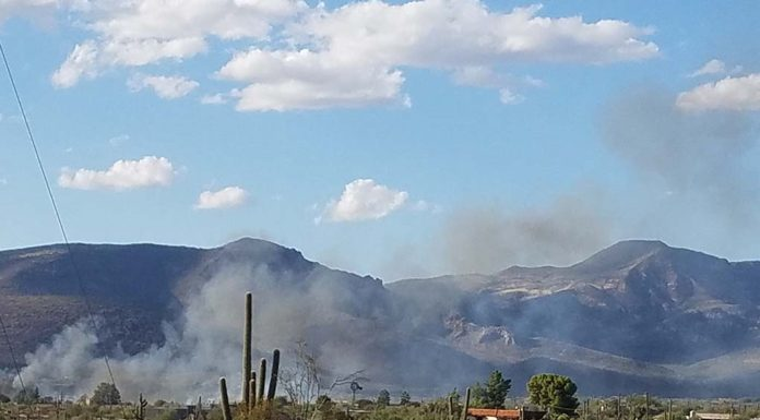 fire at Yucca