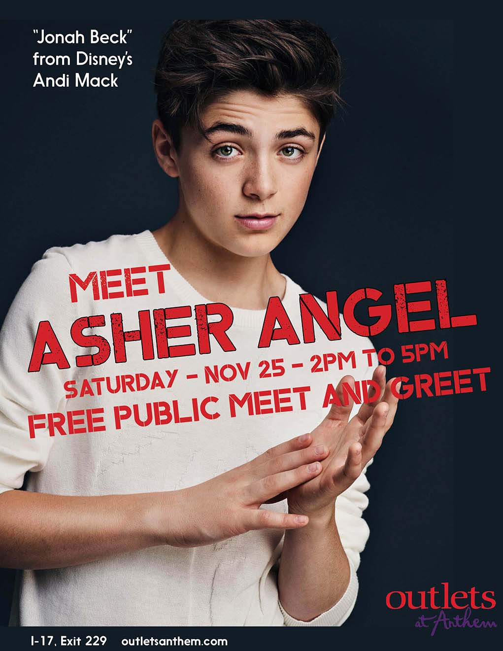 Disney star appearing at outlets at anthem sonoran news free public meet and greet what disney channel star m4hsunfo