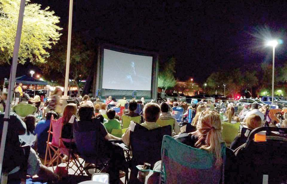 One Of North Scottsdale S Premier Open Air Ping Centers Located At 16243 Road Will Host A Series Date Night Drive In Movie